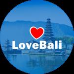 LOVE BALI logo